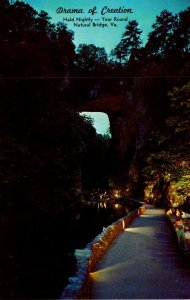 Virginia Natural Bridge Drama Of Creation
