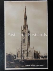 Vintage PC - Parish Church, Grantham
