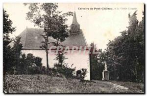 Old Postcard Calvary Chapel Old Bridge Chateau