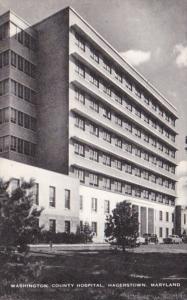 Maryland Hagerstown Washington County Hospital