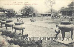 Vietnam, Viet Nam,  Nhân Vật Annam-Hue la Pagode de Gia Long Dans le Palais