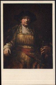 Portrait of Himself Rembrandt van Rijn The Frick Collection NY - Und/B Vintage