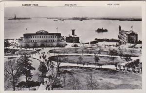 New York City Battery Park and Aquarium Photo