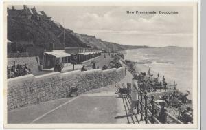 Dorset; New Promenade, Boscombe PPC Unposted, c 1920's, Shows Beachfront