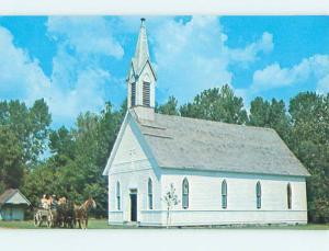 Unused Pre-1980 CHURCH SCENE Rockville - Parke County Indiana IN hs6689