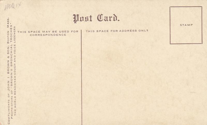BOSTON, Massachusetts, 1900-10s; OLD IRONSIDES, Frigate Constitution