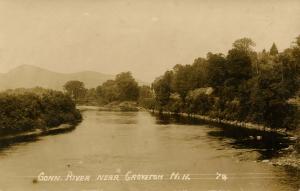 NH - Groveton. Connecticut River  *RPPC