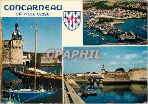 Postcard Modern Concarneau The walled town