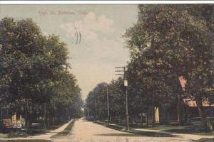 Ohio Bellevue High Street 1908