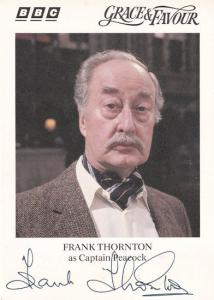 Frank Thornton Are You Being Served Grace & Favour Hand Signed Photo
