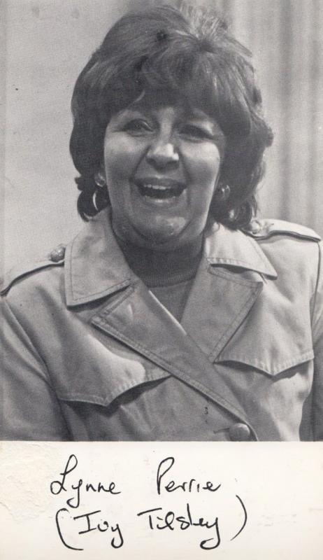 Thelma Barlow Coronation Street Antique Granada TV Printed Rare Signed Cast Card