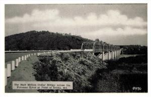 Maryland  Point of Rocks , 1/2 million $ Bridge over Potamac River