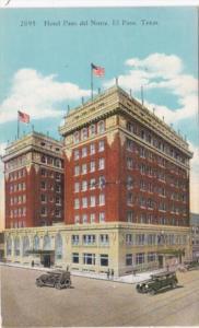 Texas El Paso Hotel Paso Del Norte 1938 Curteich