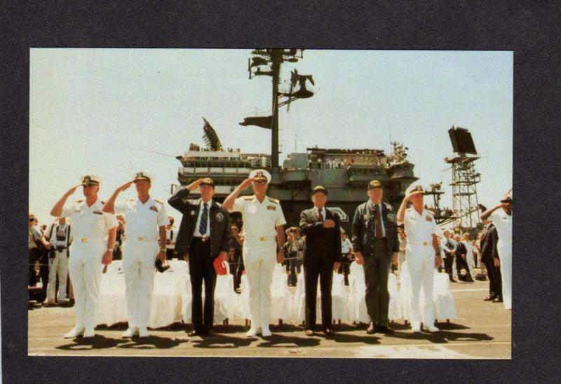 President Ronald Reagan USS Constellation Aircraft Carrier Ship Navy Naval PC