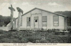 WRANGELL , Alaska , 00-10s ; Chief Shake's Community House