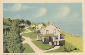 Cottages A Notre-Dame Du Portage, Quebec, Canada, 1910-1920s