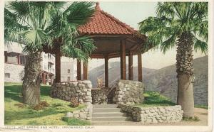 Hot Spring and Hotel, arrowhead, California, Early Postcard, Used in 1913