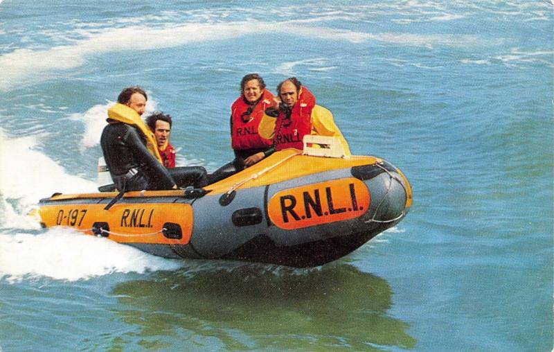 Postcard RNLI Inshore Lifeboat by J. Salmon Ltd J3
