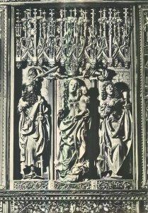 Postcard CZECH REPUBLIC Levoca sainte vierge jacques saint jean sculpture art