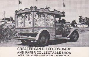 Great San Diego Postcard and Paper Collectibles Show 1985
