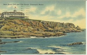 Ogunquit, Maine, Bald Head Cliff and Cliff House
