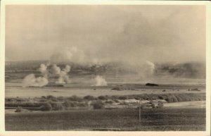Russia Sowjet union Unsere Artillerie belegt feindliche Stellungen 03.38