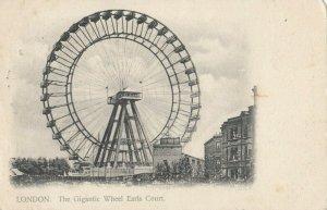 LONDON, England, PU-1904 ; The Giantic Wheel , Earls Court