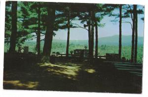 Unused Rindge Hilltop House at Cathedral of the Pines Vintage New Hampshire Postcard