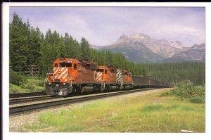 Canadian Pacific Railway Coal Train, Continental Divide, Alberta