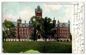1906 Main Building, Ohio State University, Columbus, OH Postcard