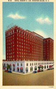 North Carolina Winston Salem Robert E Lee Hotel