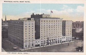 MONTREAL, Quebec, Canada, 1900-1910s; The Mount Royal Hotel