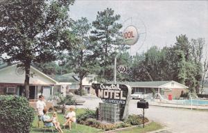 Swimming Pool, Crystal Motel, WEST COLUMBIA, South Carolina, 40-60´