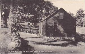 New Hampshire Franklin Daniel Webster Birthplace Built 1780