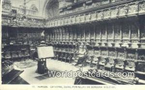 Spain Postcard España Tarjeta Postal Catedral, Coco Por Felipe de Borgona si...