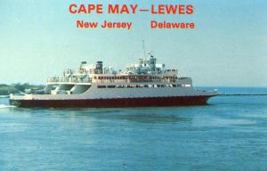 DE - Lewes. Ferry to Cape May, NJ