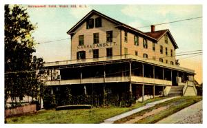 Rhode Island  Watch Hill ,  Narragansett Hotel