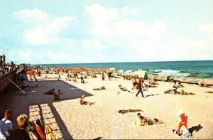Maryland Ocean City Beautiful Beach Scene