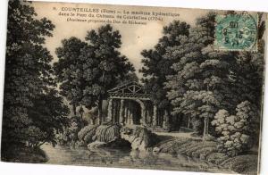 CPA COURTEILLES - La Machine hydrailique dans le Parc du Chateau(181680)
