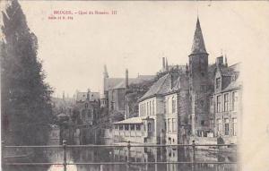 Belgium Bruges Quai du Rosaire III 1903