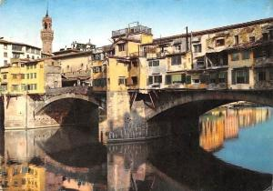 Italy Firenze Ponte Vecchio, Old Bridge Bruecke Pont