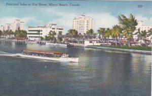 Florida Miami Beach Pancoast Lake At 41st Street