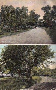 WICHITA , Kansas, PU-1909 ; Split Views of Riverside Park