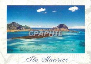 Postcard Modern Mauritius Mauritius Island Le Morne Benitiers to Dauphin