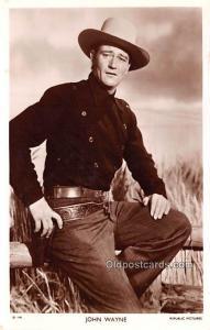 John Wayne Movie Star Actor Actress Film Star Postcard, Old Vintage Antique P...