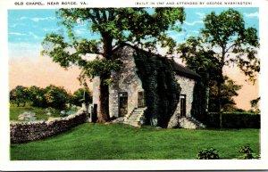 Virginia Old Chapel Near Boyce