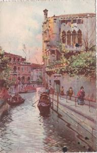 Italy Venezia Rio delle Maravegie 1929