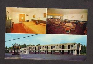 ME Pamola Motor Lodge Motel Mt Katahdin Millinocket Maine Postcard Baxter State