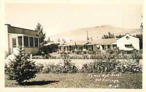 RPPC of Symes Apartment Hotel Hot Springs Montana MT