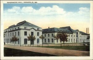Annapolis MD Isherwood Hall c1920 Postcard